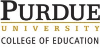 Purdue + Education Logo